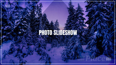 Photo Slideshow Video Maker with Geometric Animations 1309