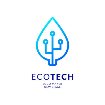 Online Logo Maker for Green Tech Companies 2176