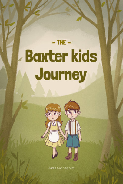 Children's Book Cover Maker for an Adventure Story