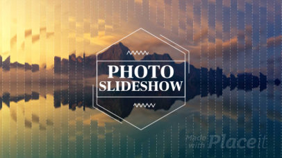 Slideshow Video Maker with Geometric Distortion Effects 1320
