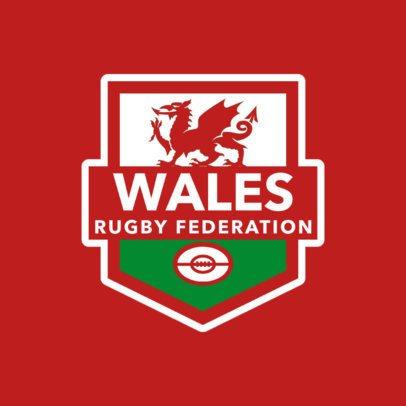 Rugby Team Logo Creator 1615a