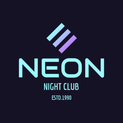 Night Club Logo Generator 1681e