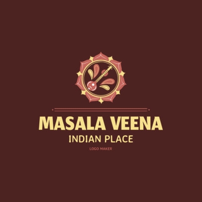 Indian Food Logo Maker | Online Logo Maker | Placeit
