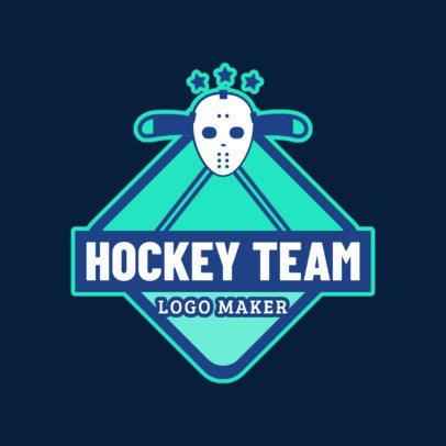 Ice Hockey Logo Maker 1562a