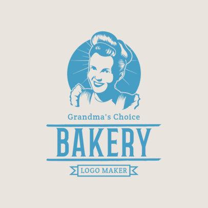 Grandmas Bakery Logo Maker 1113f