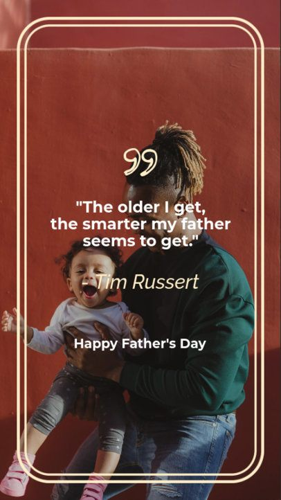 Instagram Story Maker for Father's Day 597g