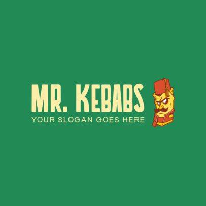 Online Logo Maker for a Kebab Restaurant 1029e