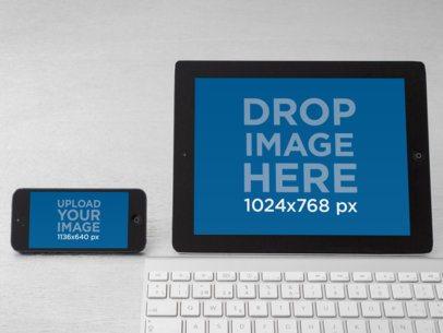 iPad Vs iPhone Keyboard Desktop