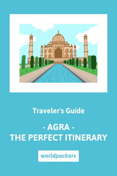 Pinterest Pin Template for a Travel Itinerary Recommendation Post 1126b