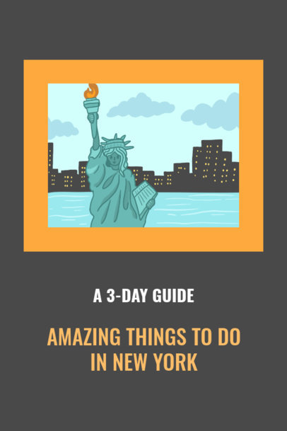 NYC Travel Guide Pinterest Pin Maker 1126d