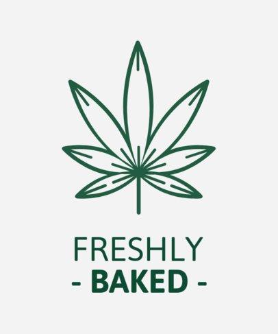 Simple Cannabis T-Shirt Maker 1423