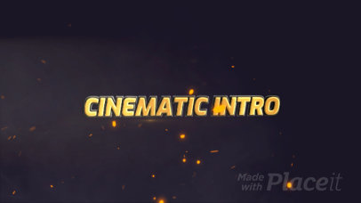 Cinematic Intro Maker with Text Animation 1646