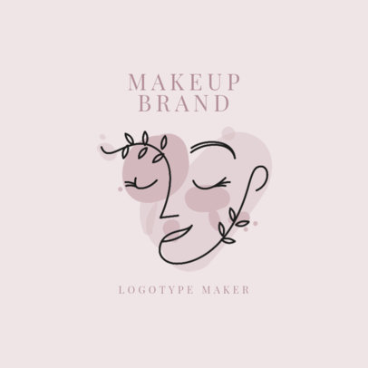Makeup Brand Logo Maker with an Avant Garde Style 2212