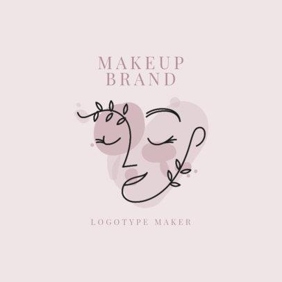 Makeup Brand Logo Maker with an Avant Garde Style 2212