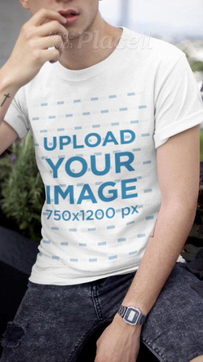 T-Shirt Mockup Video Templates