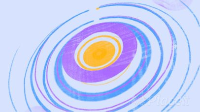 Colorful Intro Maker for a Logo Reveal with Hand-Drawn Circle Animations 1631