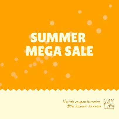 Coupon Maker for a Summer Mega Sale 1032a