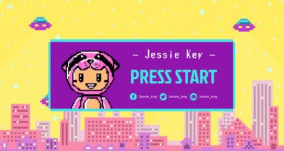 Twitch Banner Maker with Kawaii 8-Bit Characters 1453d