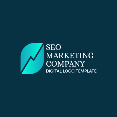 Logo Template for a Digital Marketing Company 2228a