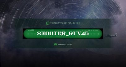 War-Themed Twitch Banner Maker for RTS Gameplays 1461b