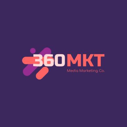 Logo Template to Create a Modern Marketing Logo 2231d