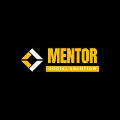 Social Media Management Agency Logo Template 2229e