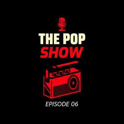 Podcast Cover Maker for Music Lovers 1498d