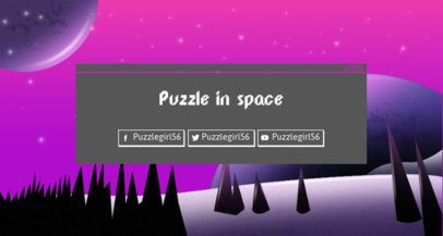 Twitch Banner Maker Featuring a Starred Synthwave Surface 1503h