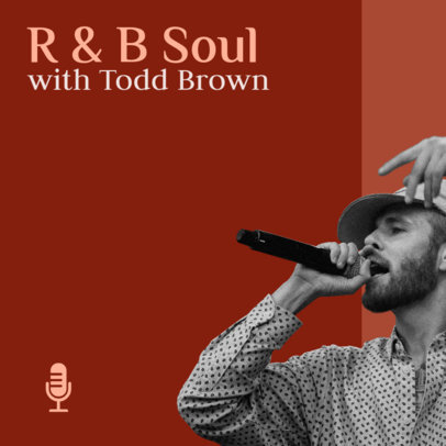 R&B Related Podcast Cover Generator 1501a