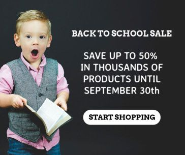 Banner Maker for a Limited-Time Back-To-School Sale 635f