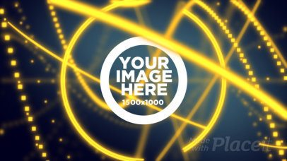 Logo Reveal Video Maker with Particles Orbiting 1697