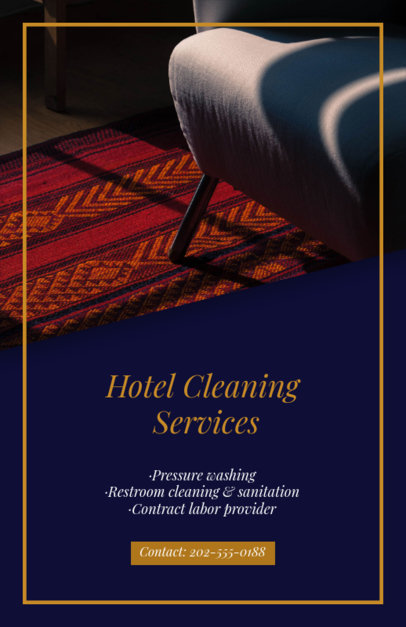 Flyer Maker for House Cleaning Services 295a