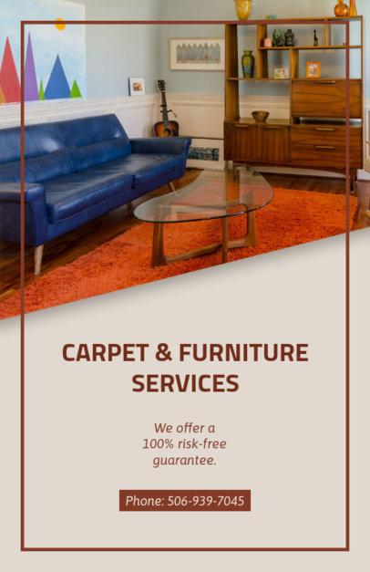 Online Flyer Maker for Residential Cleaning 295b