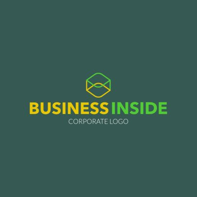 Abstract Corporate Logo Maker 1518h