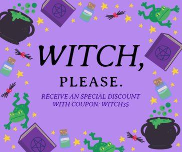 Special Halloween Discounts Facebook Post Template 622h