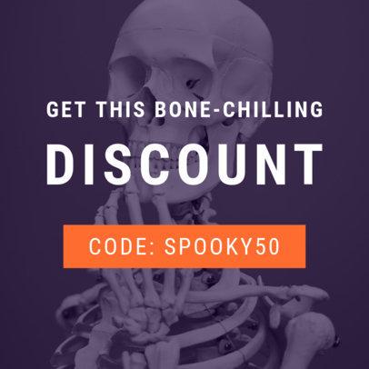 Halloween Special Discount Online Banner Generator 753h