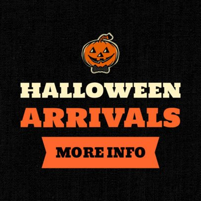 Banner Generator for New Halloween Arrivals 755k