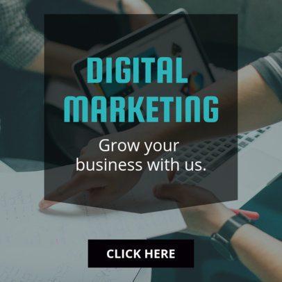 Corporate Digital Marketing Online Banner Maker 272a