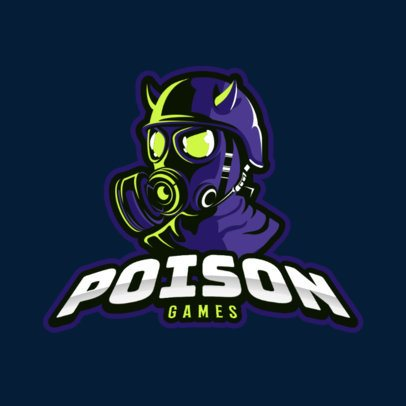 Gaming Logo Creator Featuring an Evil Masked Character 383p 2290