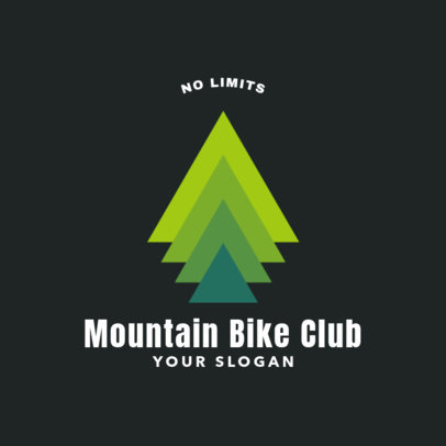Mountain Bike Club Logo Generator 1547f