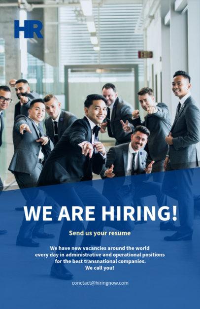 Flyer Design Template for Recruitment Company 516e