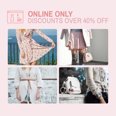 Women's Fashion-Themed Instagram Post Maker 1588a