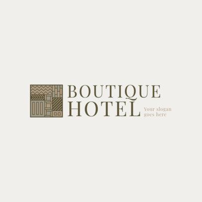 Minimal Logo Maker for Boutique Hotels 2329