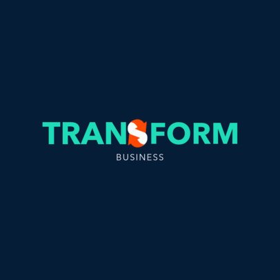 Online Logo Generator with Modern Letters 1528h - 2311