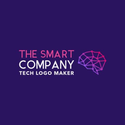 Innovative Logo Maker for a Tech Company 1140g-2334
