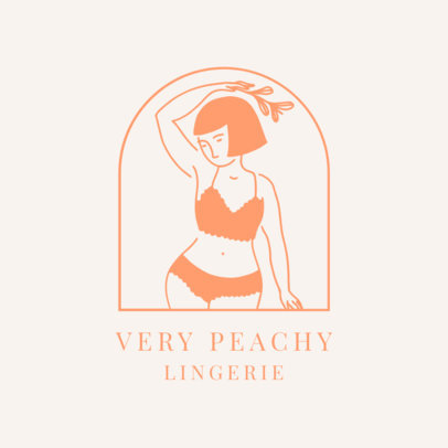Clothing Logo Maker for a Lingerie Brand 2356