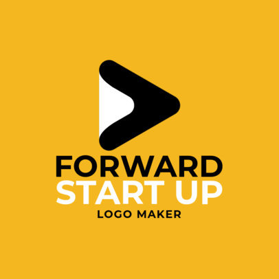 Startup Logo Creator with an Abstract Icon 1140h-2368