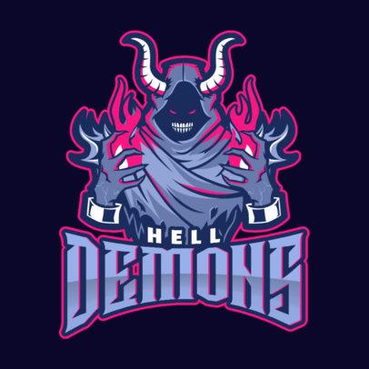 Gaming Logo Maker Featuring an Evil Sorcerer 1749k--2360