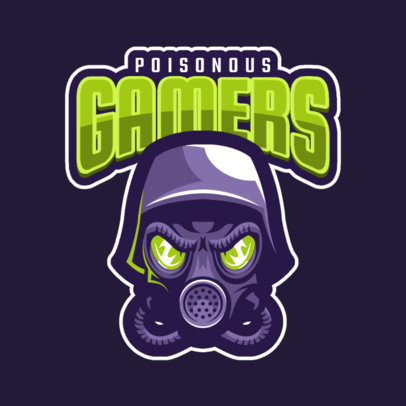 Toxic Mask Logo Maker for Gamers 1869i-2287