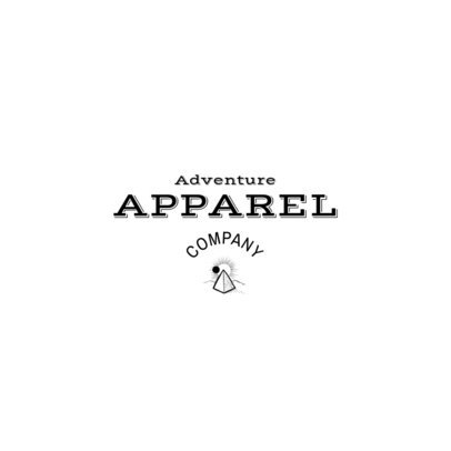 Adventure Clothing Logo Maker with Minimal Graphics 2355f